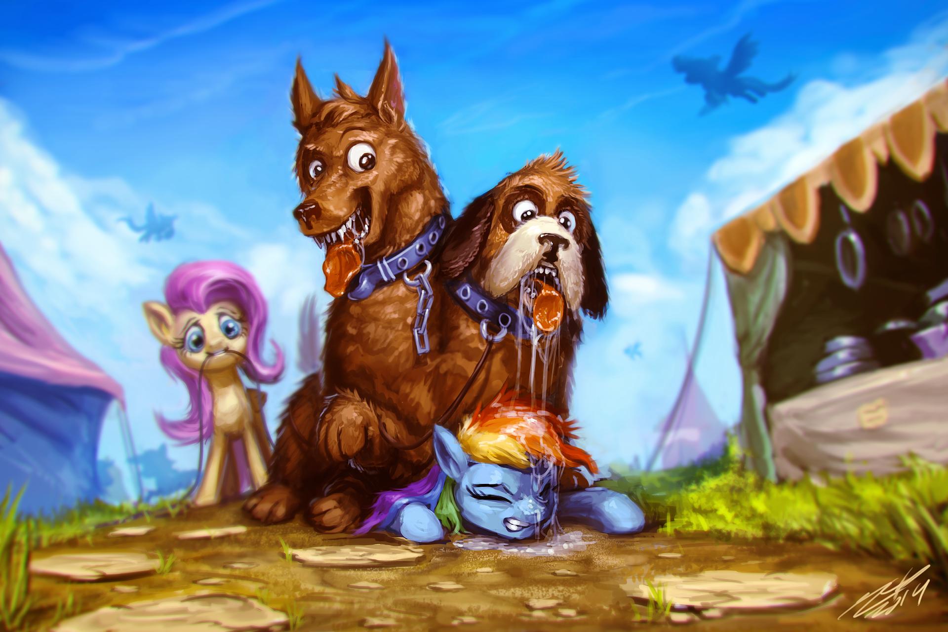 Double Doggie, Double Pegasus by AssasinMonkey