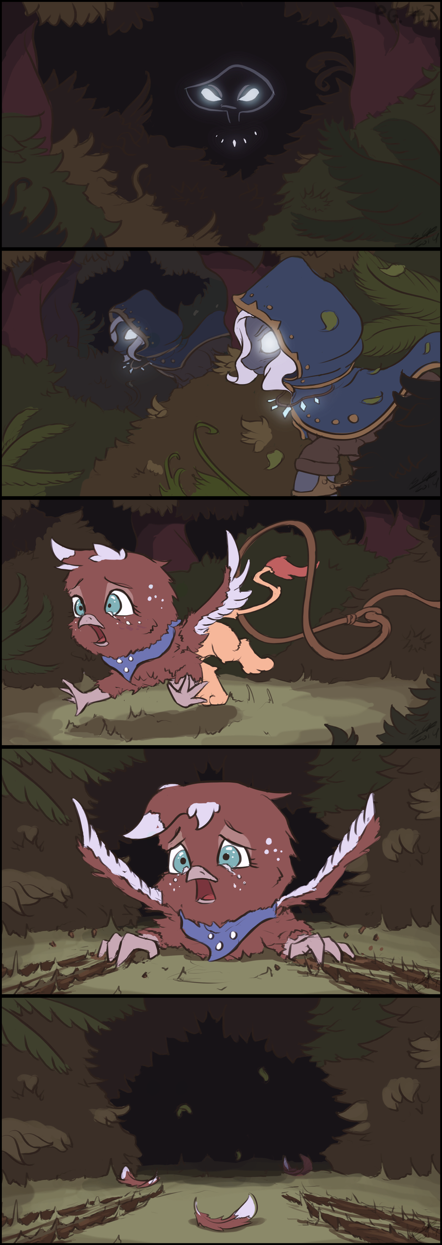 Little Gryphy #03 - FCW Short Story by AssasinMonkey