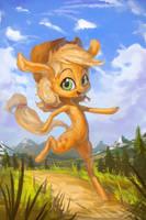 Apple little run run by AssasinMonkey