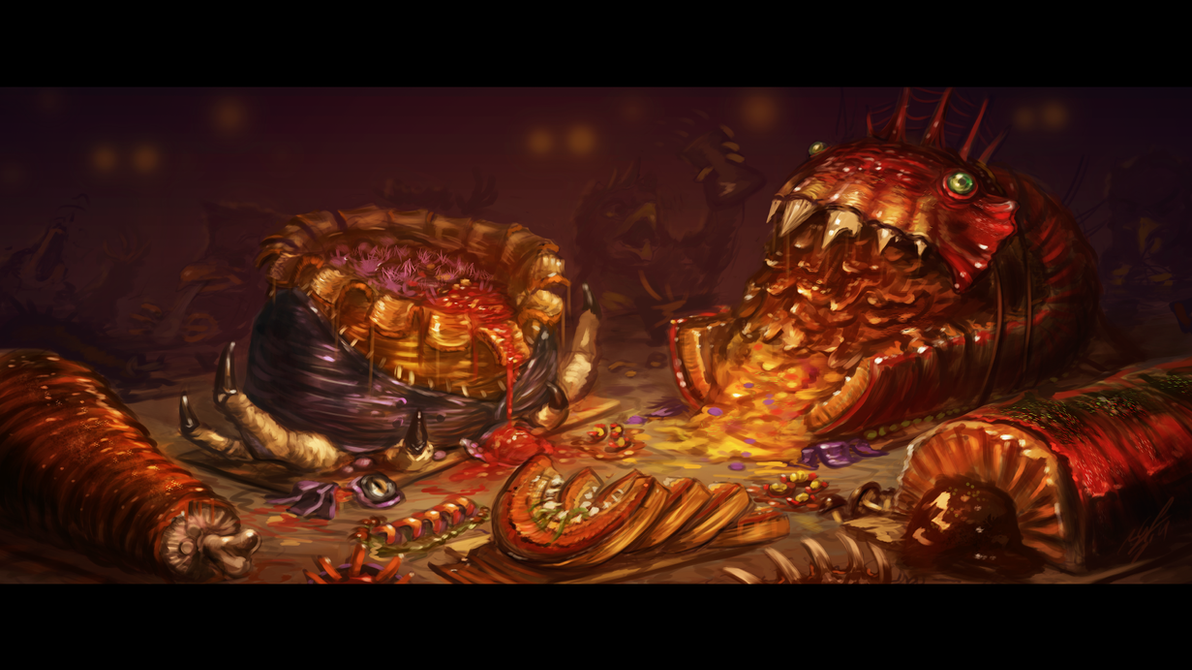 Feathers, Talons & Feasts by AssasinMonkey
