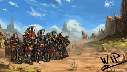 Striped Army [In Progress]