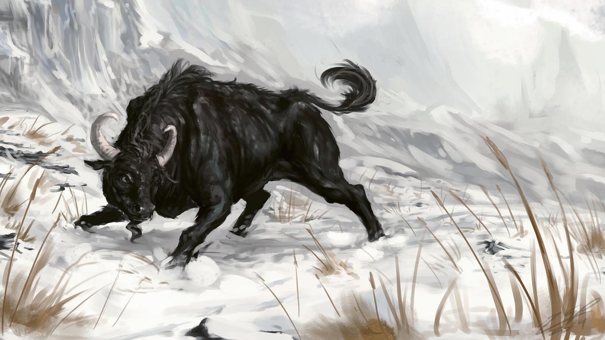 Bovine of the North by AssasinMonkey