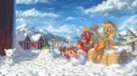 Little Snow Apples