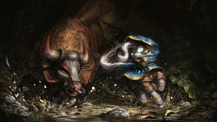 Bulls of the Hooved by AssasinMonkey