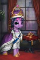 Princess Twilight Coronation Portrait by AssasinMonkey