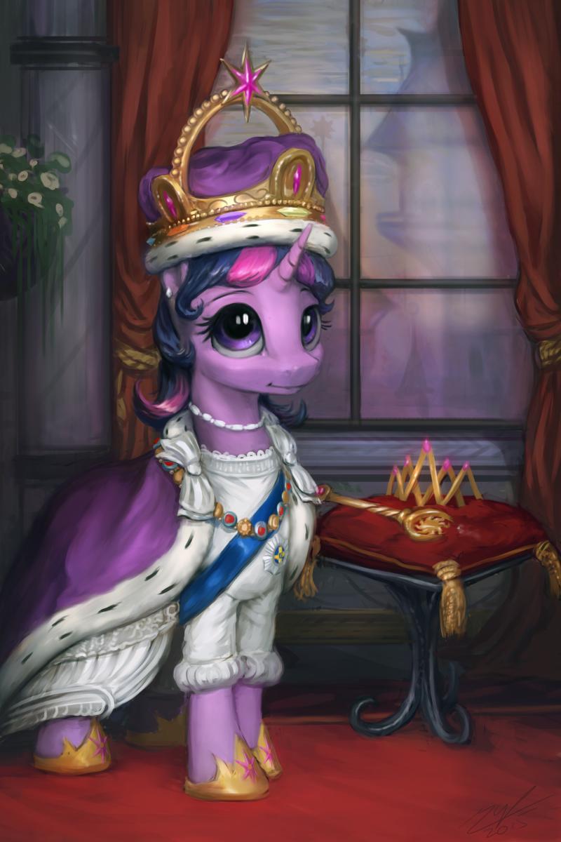 Princess Twilight Coronation Portrait