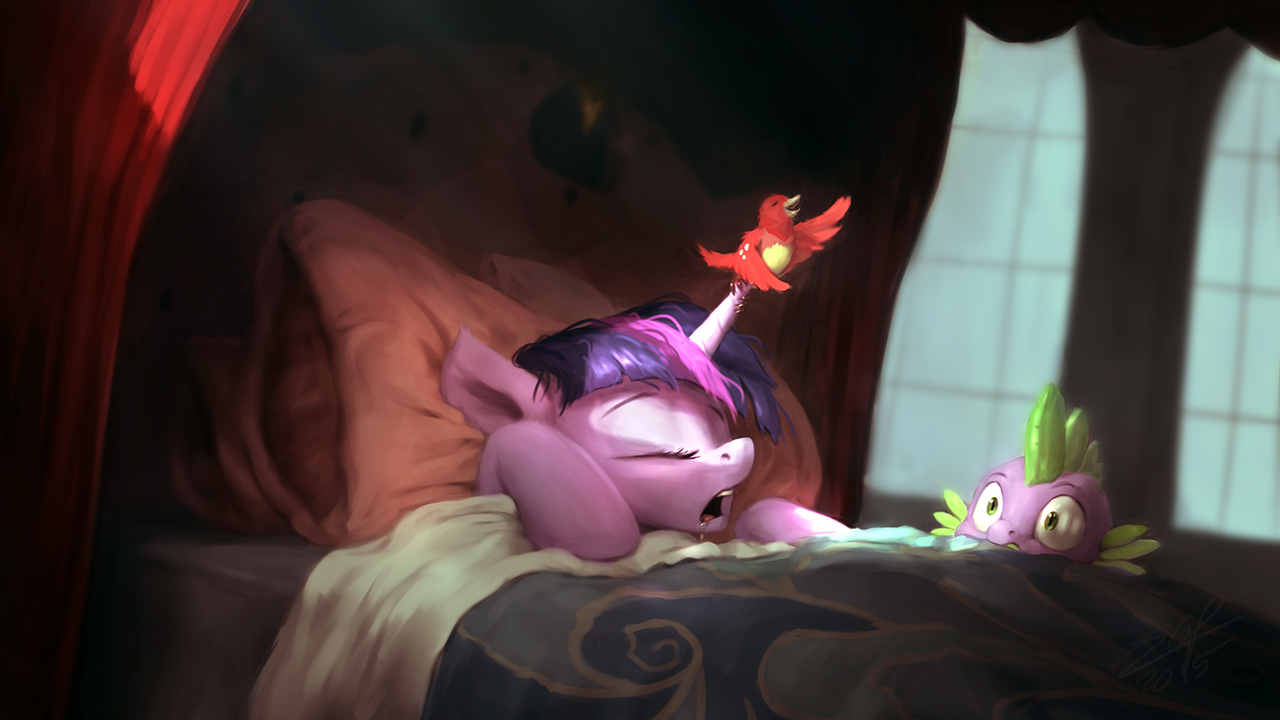 On Princess... by AssasinMonkey