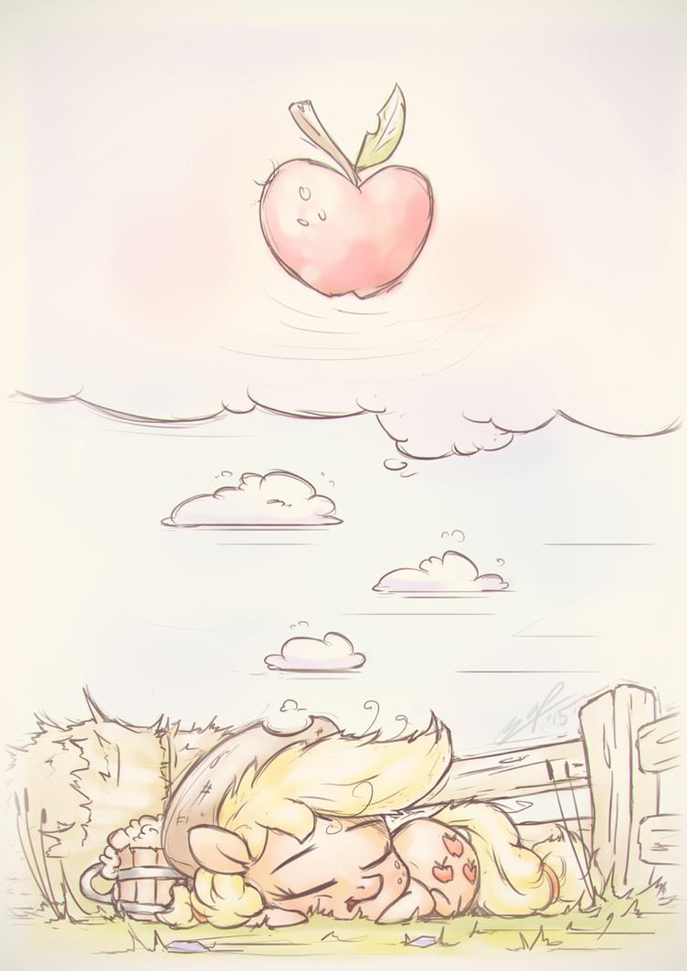Little Apple Days by AssasinMonkey