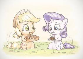 Pie Together by AssasinMonkey
