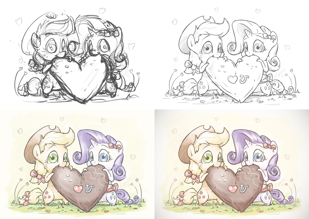 Little Hearts and Hooves [WIP] by AssasinMonkey