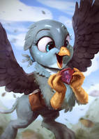 Gabby Happy by AssasinMonkey
