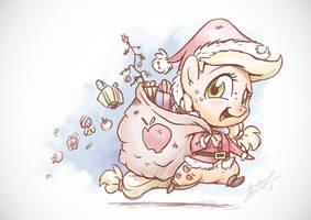 Applejack's Warming Eve by AssasinMonkey