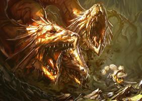 Ever Free Hydra by AssasinMonkey