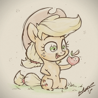 The Tiny Apple by AssasinMonkey