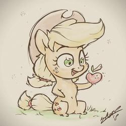 The Tiny Apple by AssasinMonkey