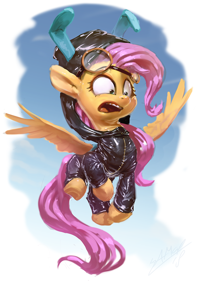 Fluttersuiting by AssasinMonkey