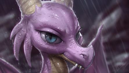 A Dragon's Warming by AssasinMonkey