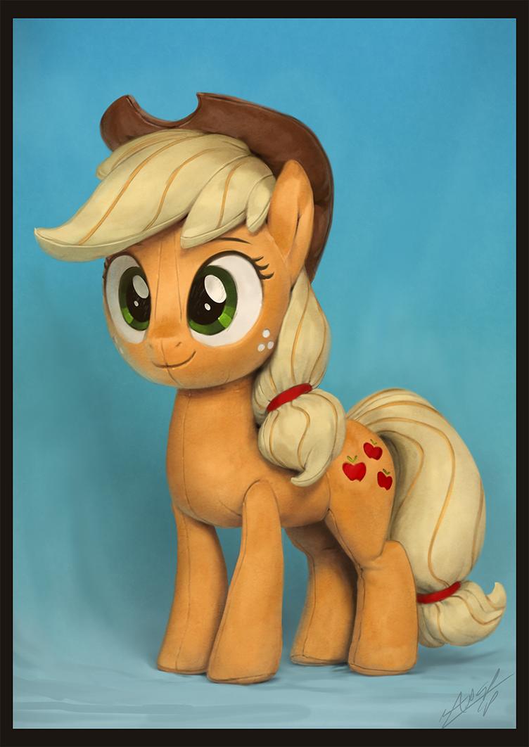 This is Not an Apple...jack Plush by AssasinMonkey