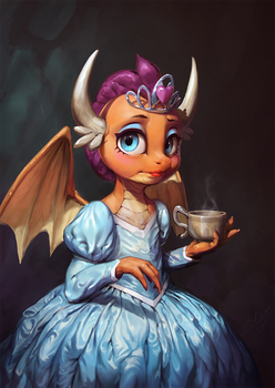 Dragon and the Dress