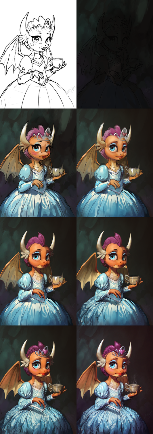 Dragon and the Dress [WIP] by AssasinMonkey
