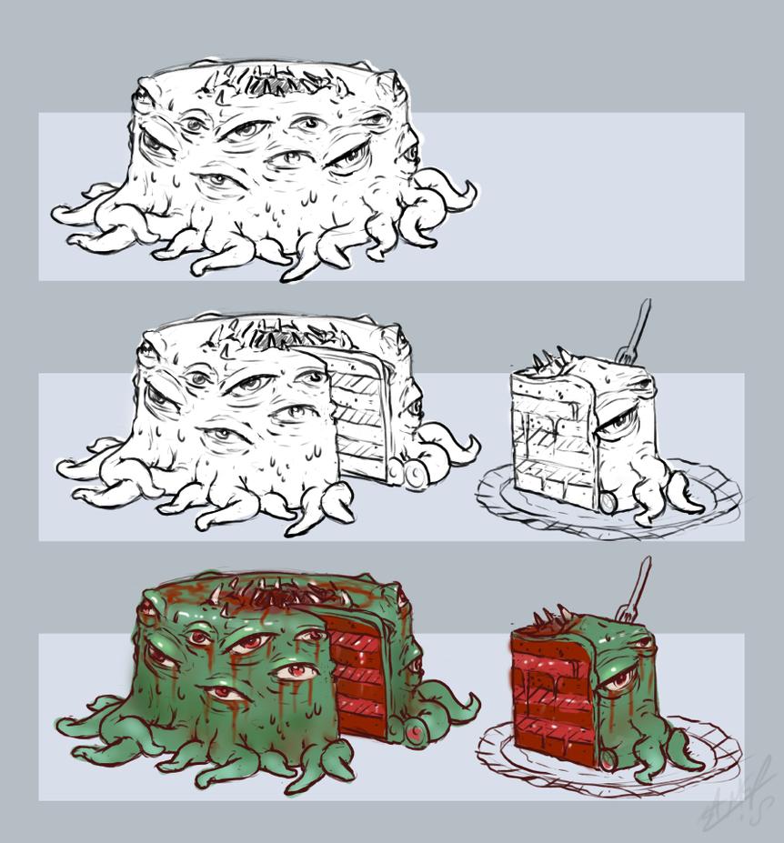Spooky Eyes for Cake by AssasinMonkey