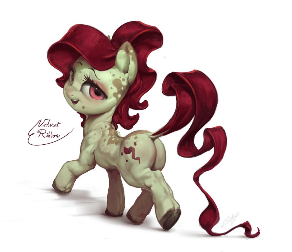 Velvet Ribbon by AssasinMonkey