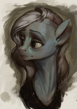 Classical Mare Sketch