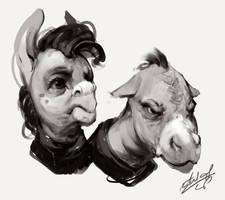 Dem Donkeys Do