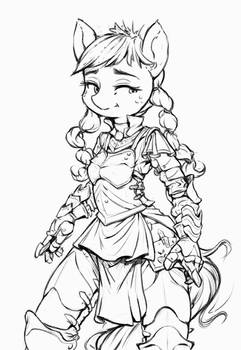 Dressed for Armour (Line)
