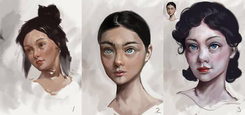 Face Practice 20190305 by AssasinMonkey