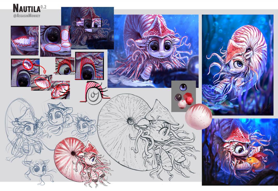 Nautila Character Page 0.2 by AssasinMonkey