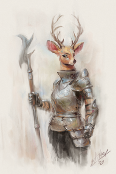 The Stag in Arms