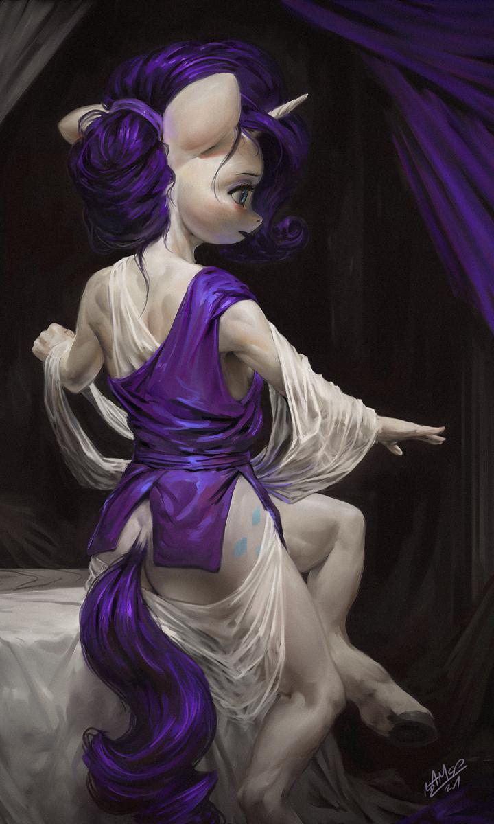 Purple Drape
