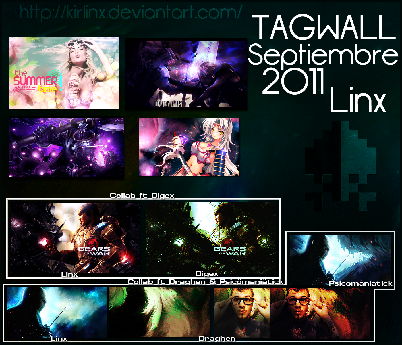 Tag Wall Septiembre Tag_wall_septiembre_2011_linx_by_kirlinx-d4blimn