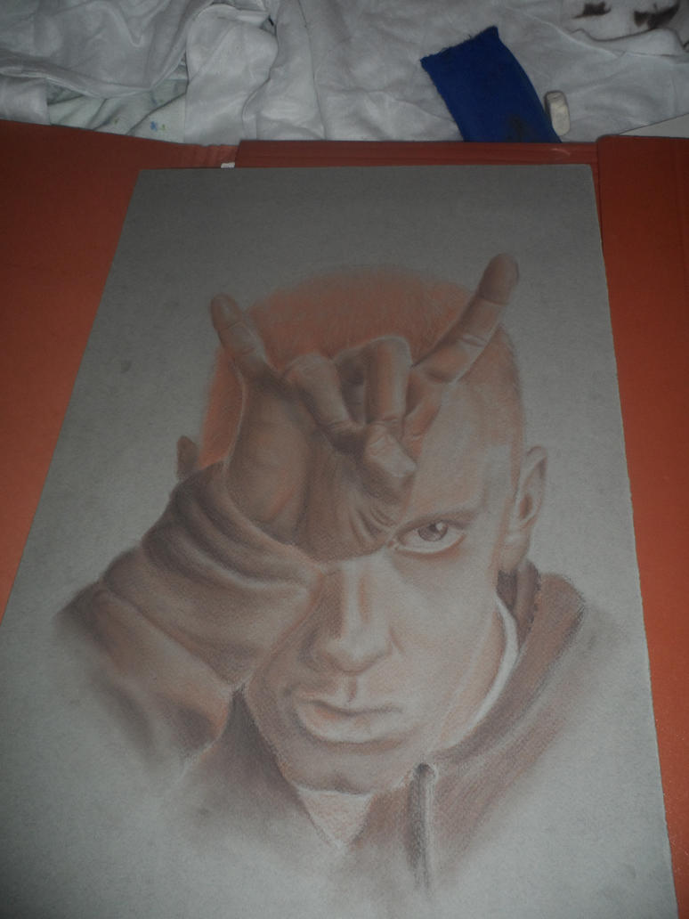 Eminem Portrait by KirLinx