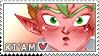 Ki'am stamp by ferocitus
