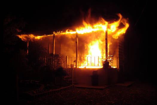House Fire on Ferguson St