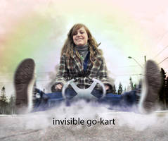 invisible go-kart