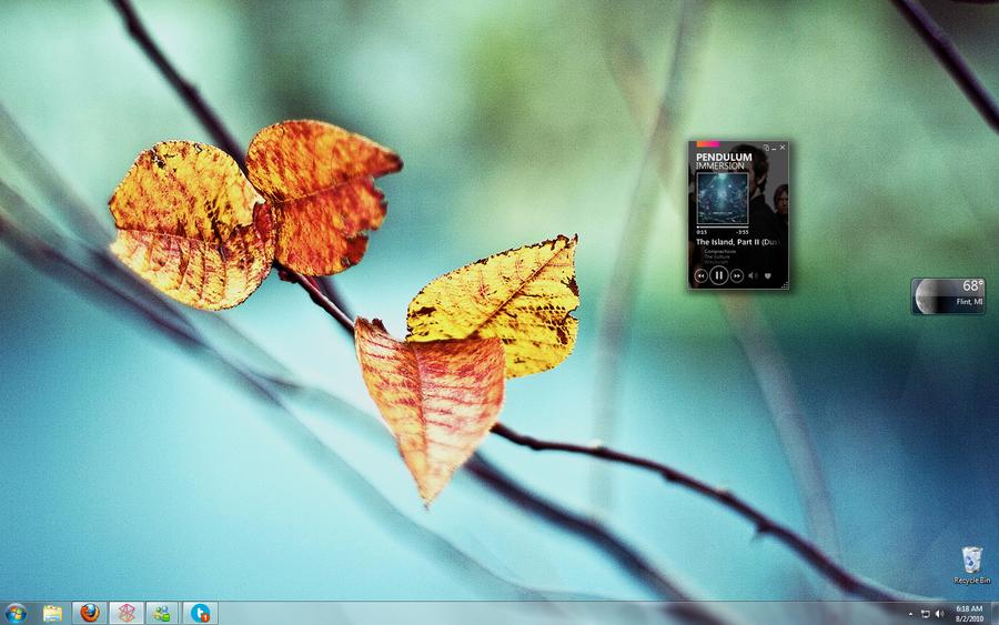 Desktop: August by NintendoRev