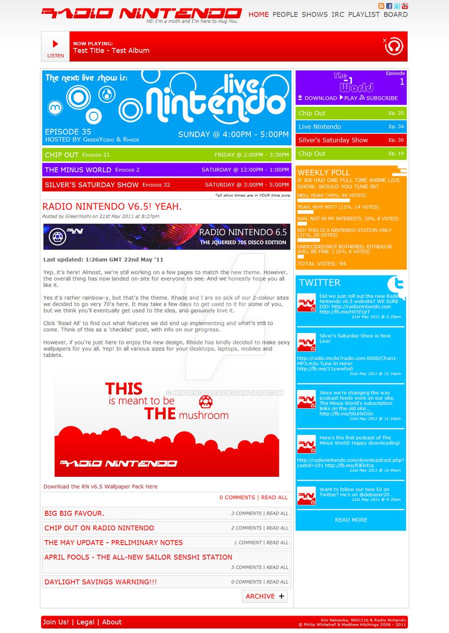 Radio Nintendo 6.5 by NintendoRev