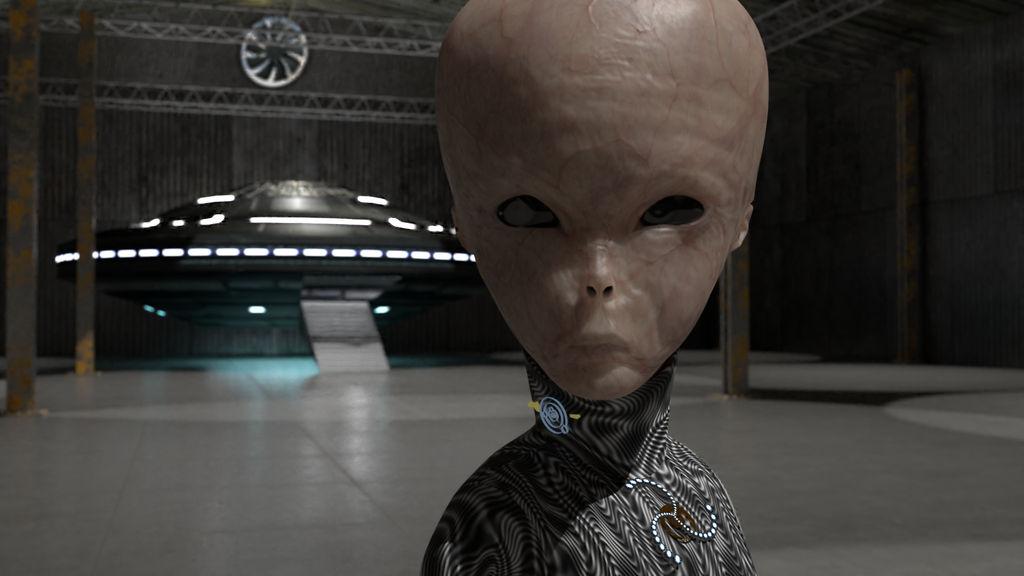 Zeta Reticuli 3D Scene by KrazyKreation on DeviantArt