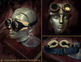 Steampunk Goggles by Emoeba