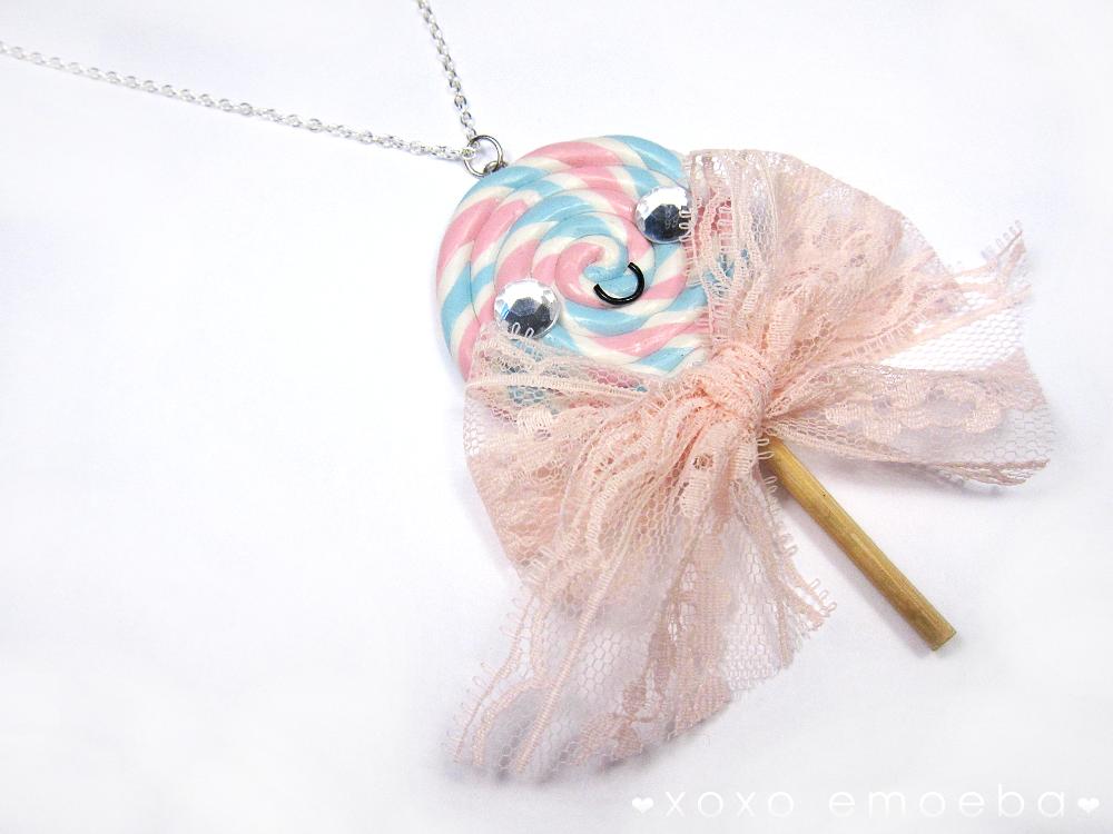 Lolllipop Necklace by Emoeba