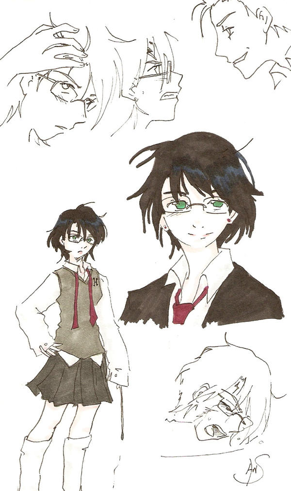 :Girl: Who Lived 2 by Divine-Nataku