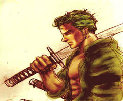 The Green Swordsman clr by Schmitiar