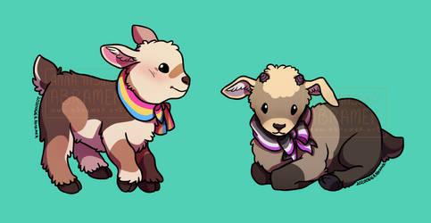 Pride goats