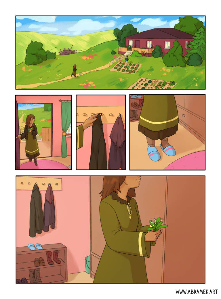 Lily of the Valley - comic page