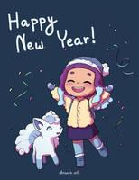 Happy New Year! by Atsuko-K