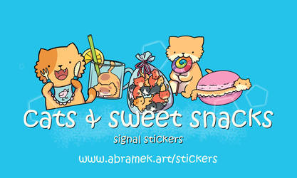 Signal stickers
