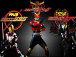 Kamen Rider's Unite Wallpaper